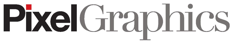 Pixel Graphics Retina Logo